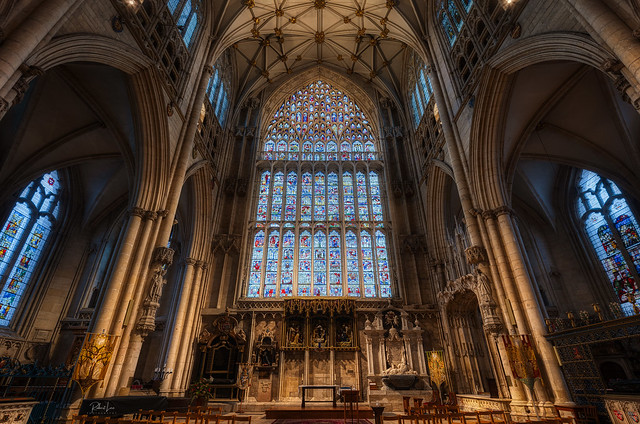The Lady Chapel & Great East Window, York Minster
