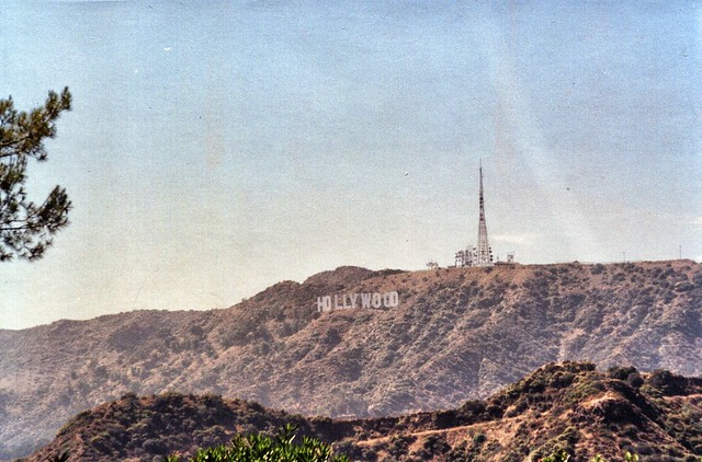 Hollywood Sign  - Los Angele County California - Hollywood Mount