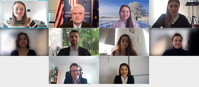 "Virtual MATA Study Trip ""Transatlantic Stakeholders"".18 February 2021"