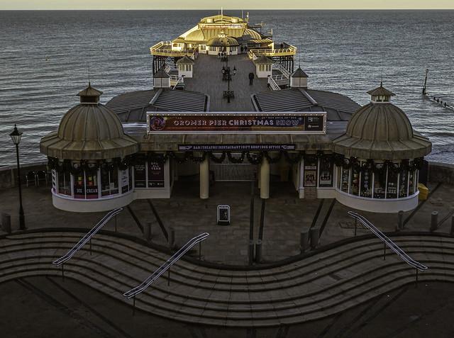 Enter: Cromer Pier November. (Explore 22/02/21)