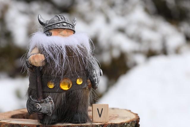 'V' is for Viking