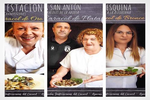Imagen promocional de las tres recetas galardonadas (Foto: Concejalía de Desarrollo Rural)