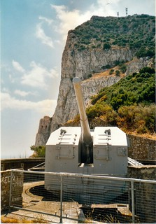 5.25in QF Gun, Princess Anne's Battery, Gibraltar | by The Ordnance Society