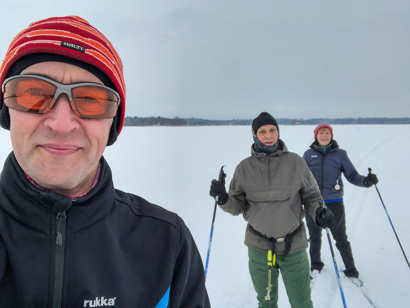 2021w07 XC-skiing on the sea