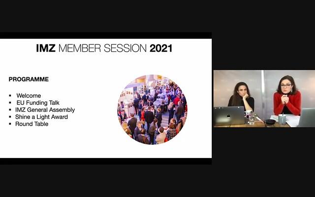 Avant Première 2021: Member Session - EU Talk + Shine a Light Award