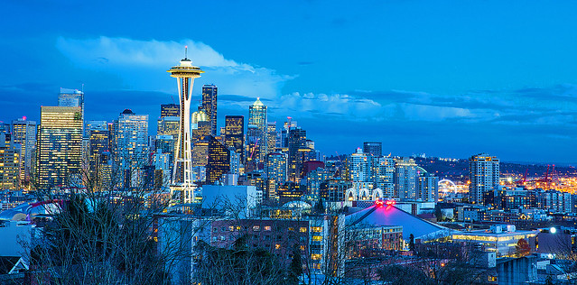 Blue Time in Seattle