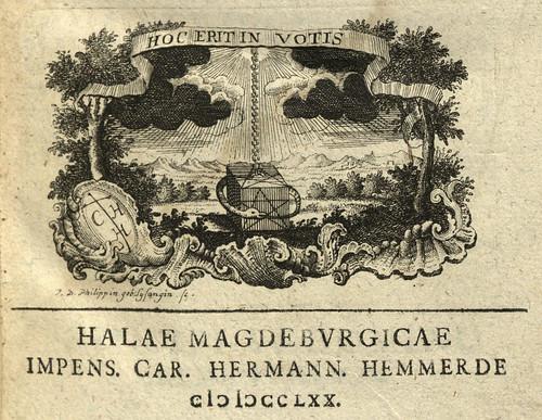 Halle: Karl Hermann Hemmerde, 1770