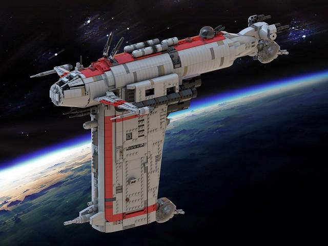 Lego MG-100 StarFortress SF-17 - Episode VIII