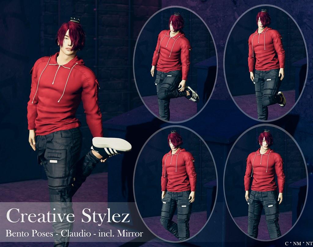 Creative Stylez – Bento Poses – Claudio –