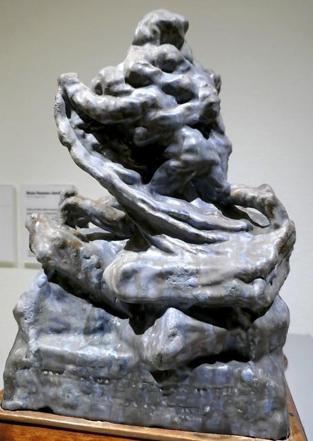 Projet pour un monument aux explorateurs polaires, Mylius Erichsen, O. Høeg Hagen et Jørgen Brøndlund, 1910-1911,Niels Hansen Jacobsen (1861-1941) , Musée national des Beaux-Arts, Copenhague, Danemark.