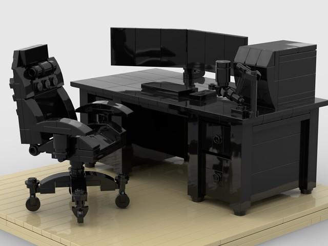 Modern desk moc
