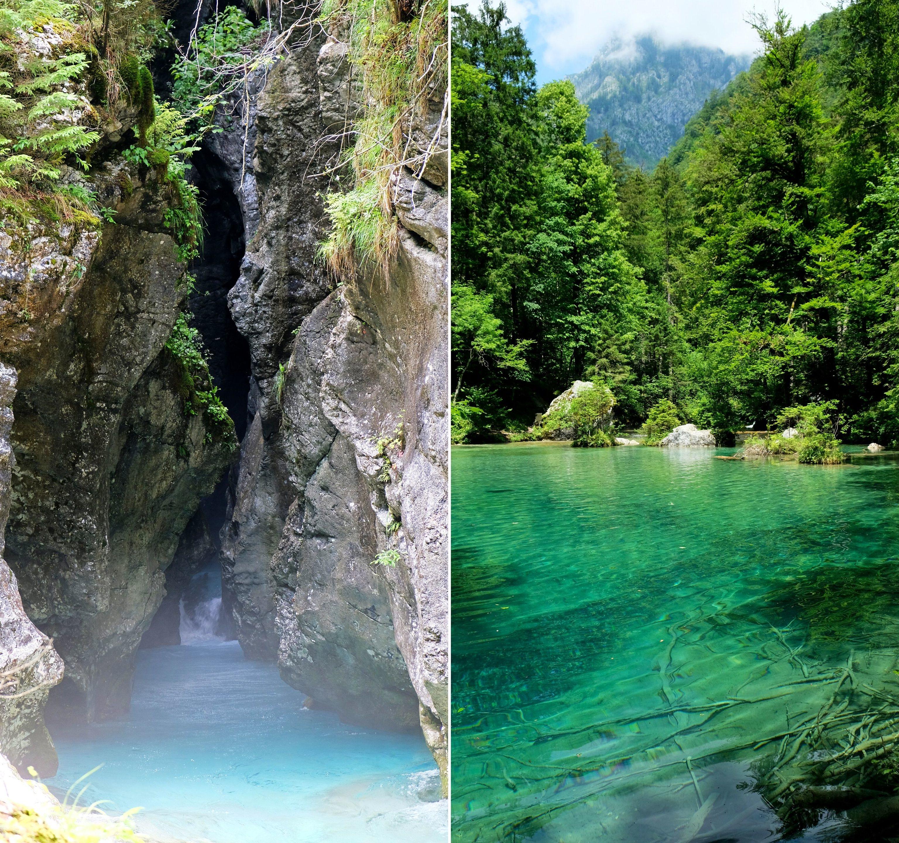 Predaselj Gorge & Kamniška Bistrica, Kamnik Alps, Slovenia