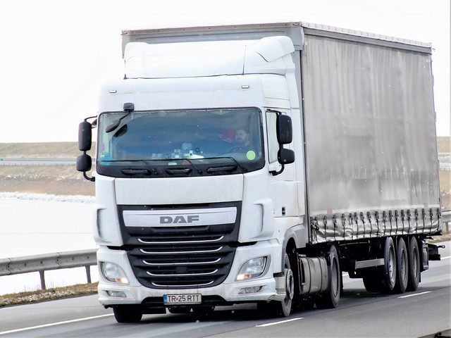 DAF XF106 spacecab, from unknown, Romania.