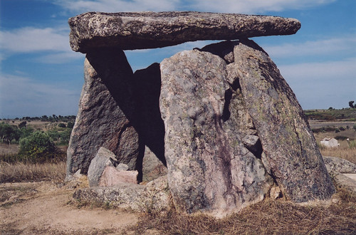 Standing stones: a dolman in Castelo de Vide, one small part of Portugal