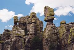 Standing stones in Chiricahua National Monument, Arizona