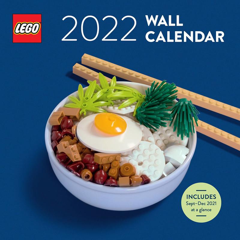 LEGO Wall Calendar 2022
