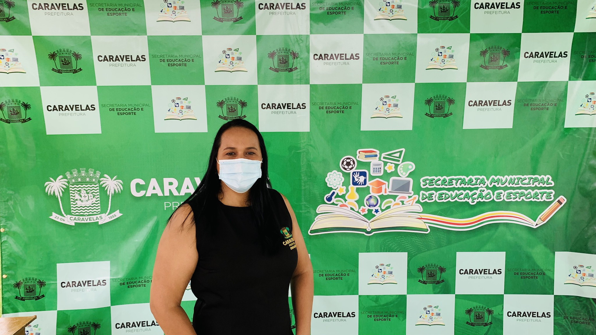 Jocivânia Caetano (Secretária de Educação e Esportes de Caravelas)