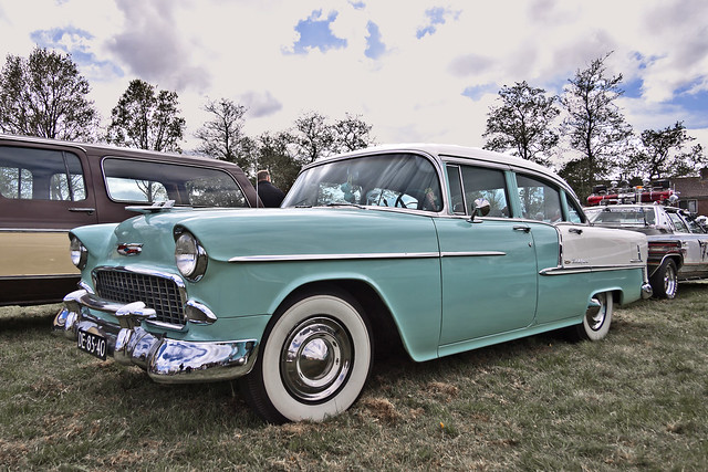 Chevrolet Bel Air Sedan 1955 (2079)