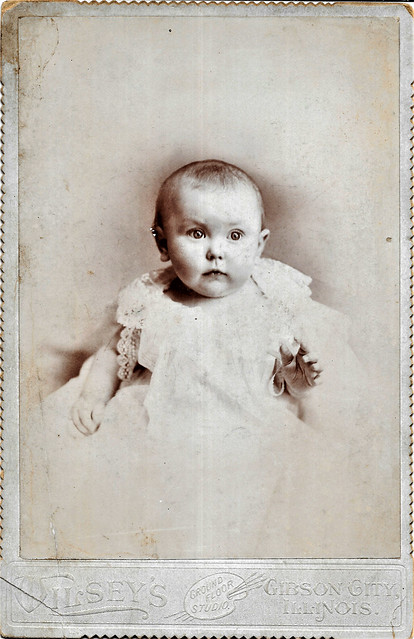 Bright eyed Baby In Gibson City, Illinois