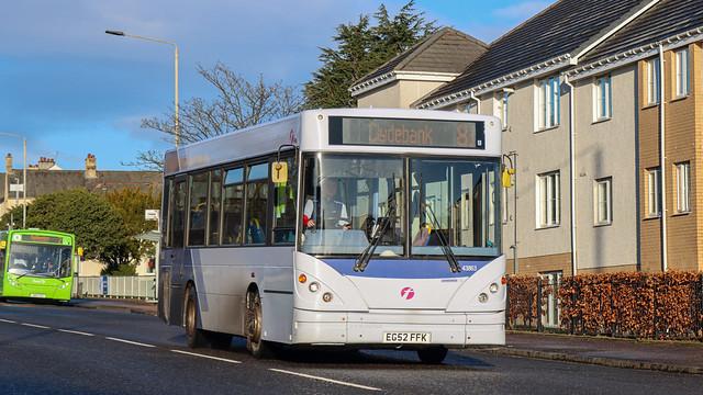 43863 EG52FFK First Glasgow