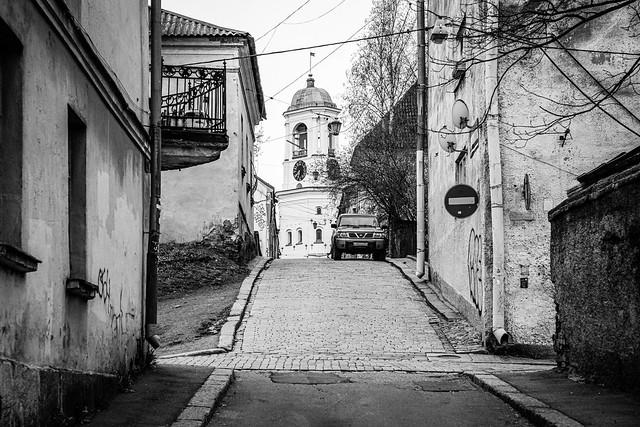 Vyborg (Viipuri) old town view