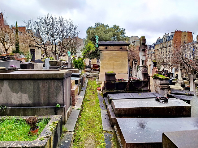 90 - Paris en Février 2021 -  Cimetière de Saint-Vincent