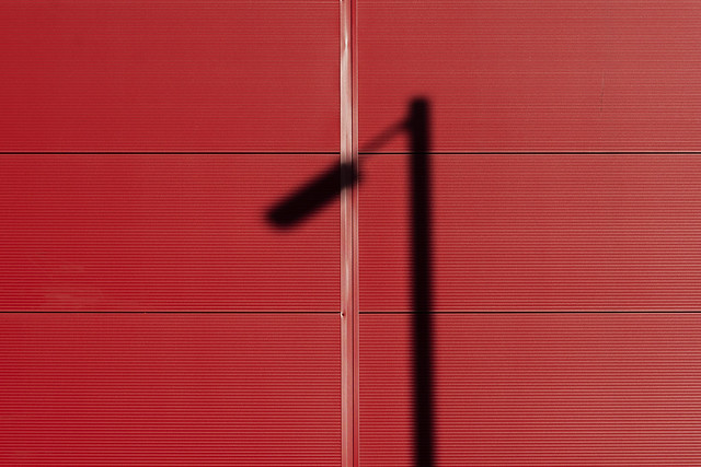 Shadow on Red