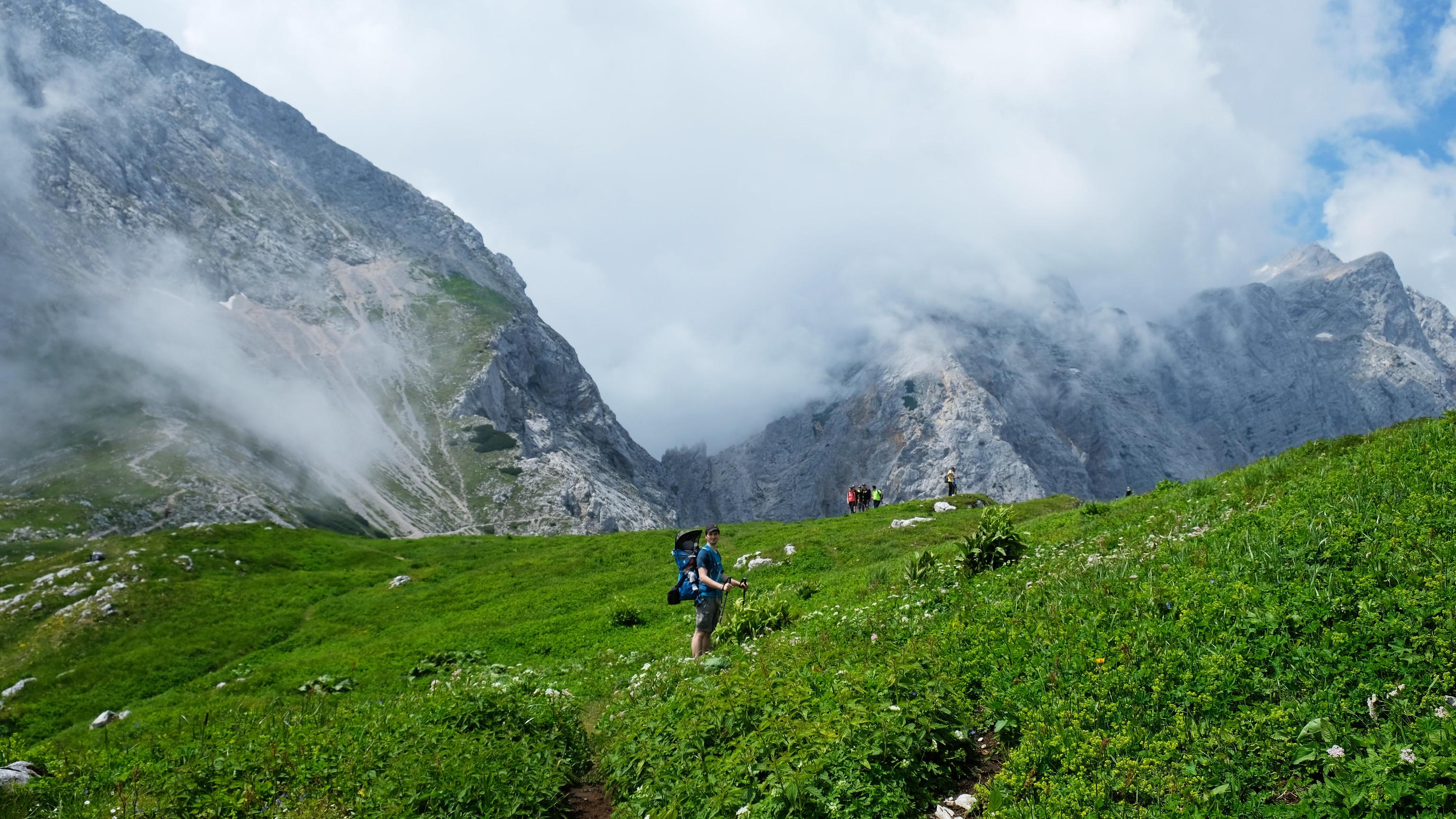 Hike to Kamnik Saddle, Kamnik Alps, Slovenia