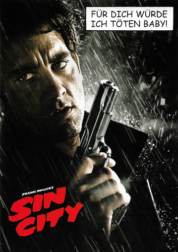 Clive Owen in Sin City (2005)