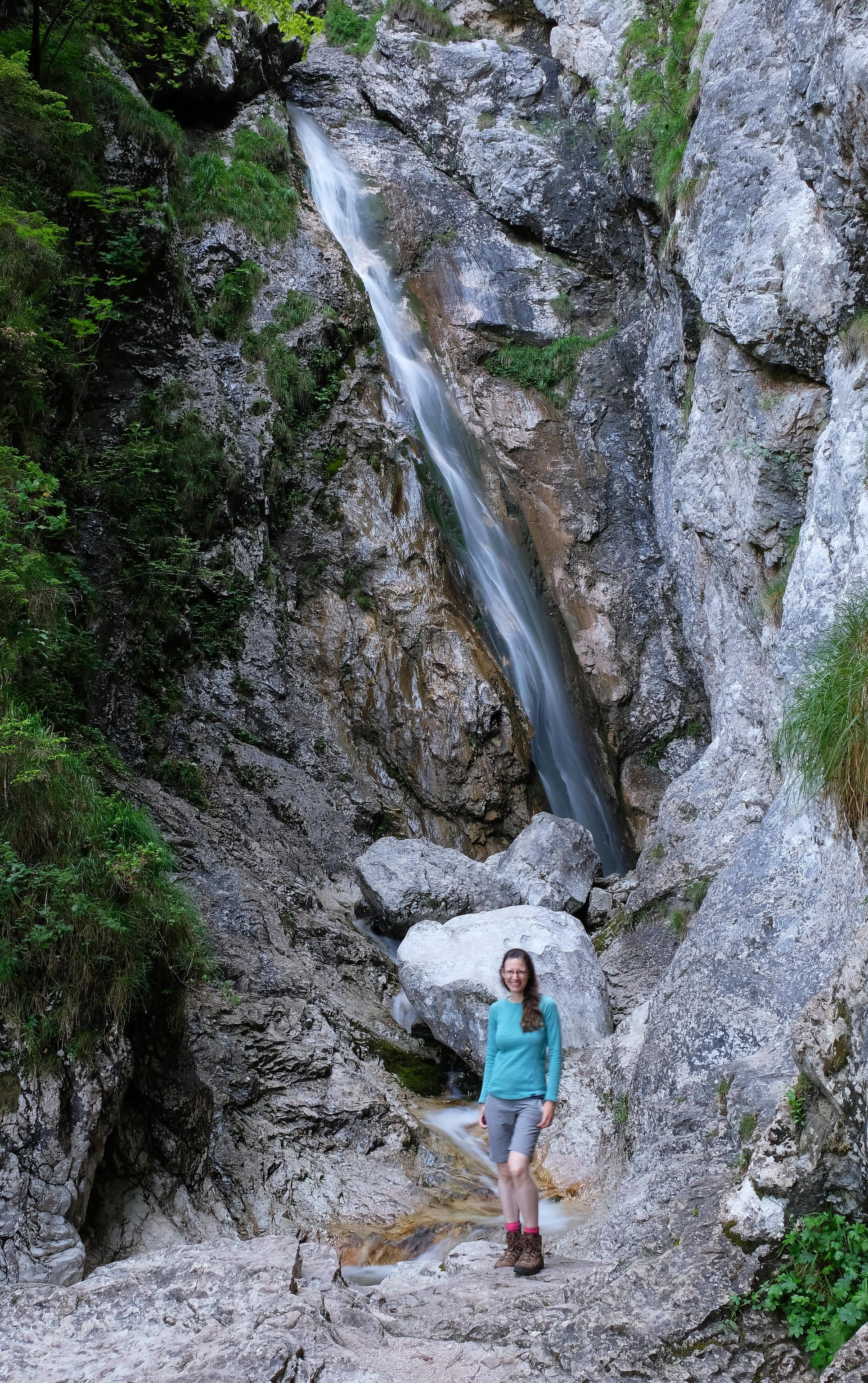 Orglice waterfall, Kamnik Alps, Slovenia