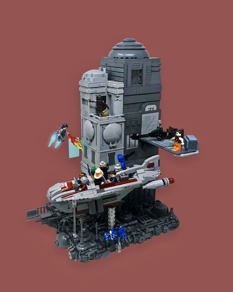 Bounty Hunter Ambush on Coruscant