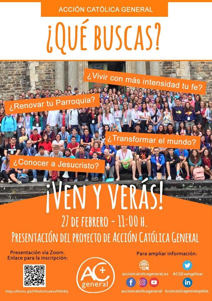 PRESENTACIÓN ONLINE de nuestro Proyecto Pastoral
