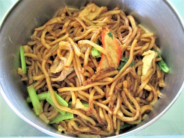 Ah Kau Foochow fried noodle, moon