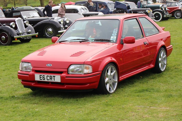 401 Ford Escort (4th Gen) RS Turbo (1988) E 6 CRT
