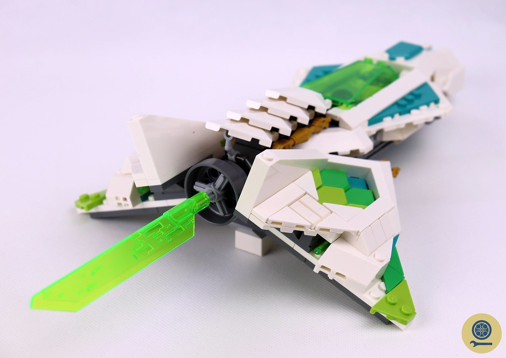 80020 White Dragon Horse Jet 7