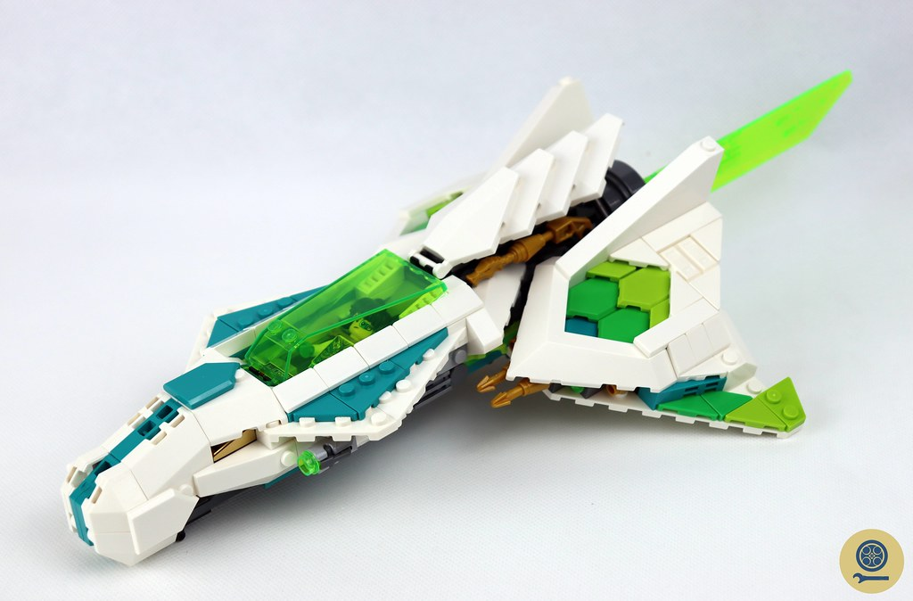 80020 White Dragon Horse Jet 6
