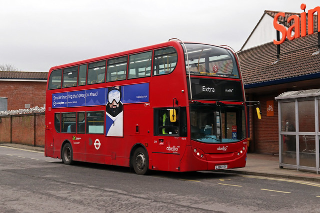 Route 285, Abellio London, 9419, LJ56VTY