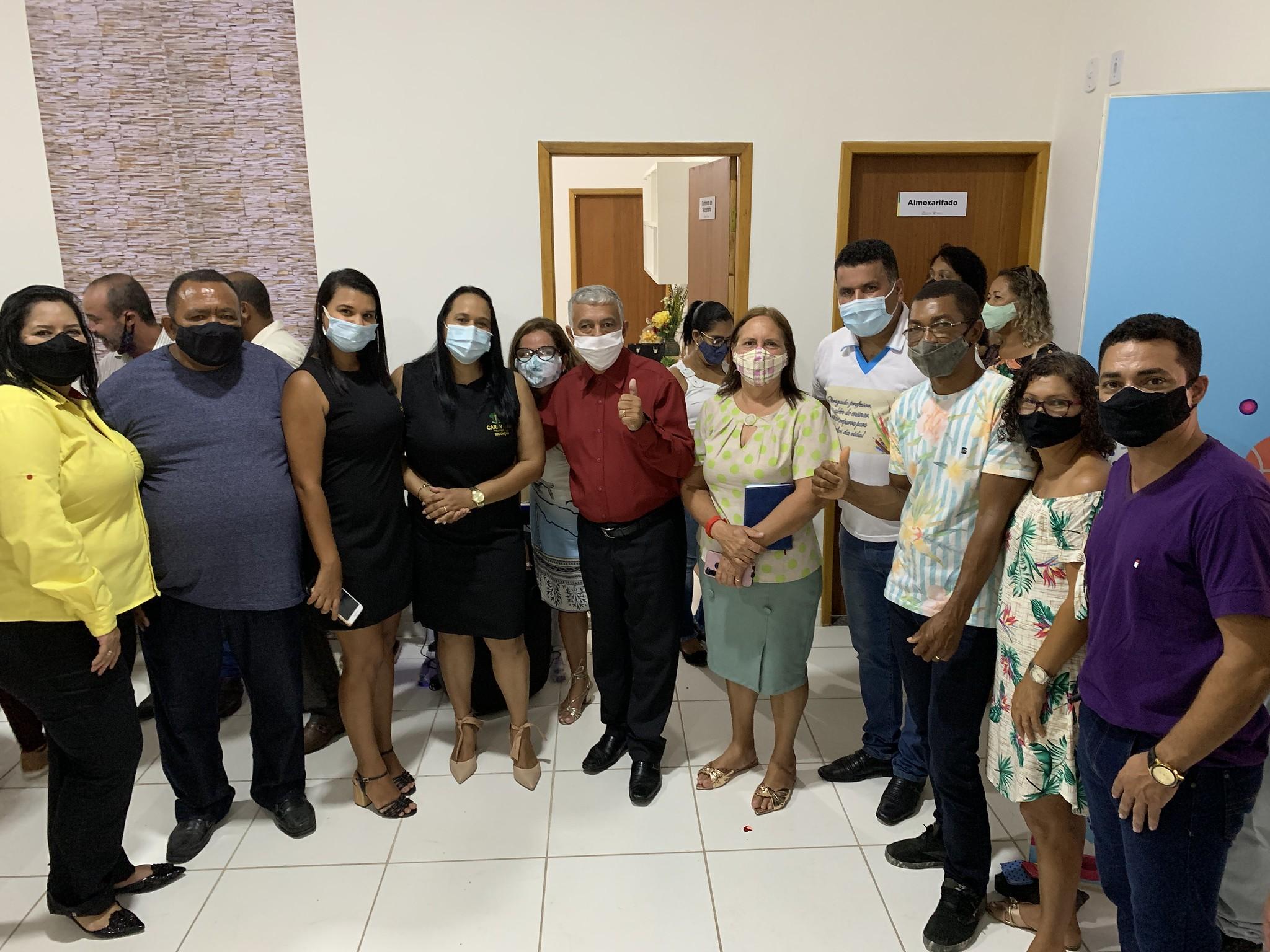 Jocivânia Caetano, Silvio Ramalho Gilmar de Souza e Doutor Adauto