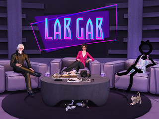 Second Life's Lab Gab - Oz & Grumpity Linden