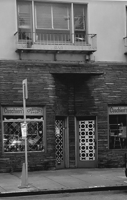 Cabinet Store Noir vert