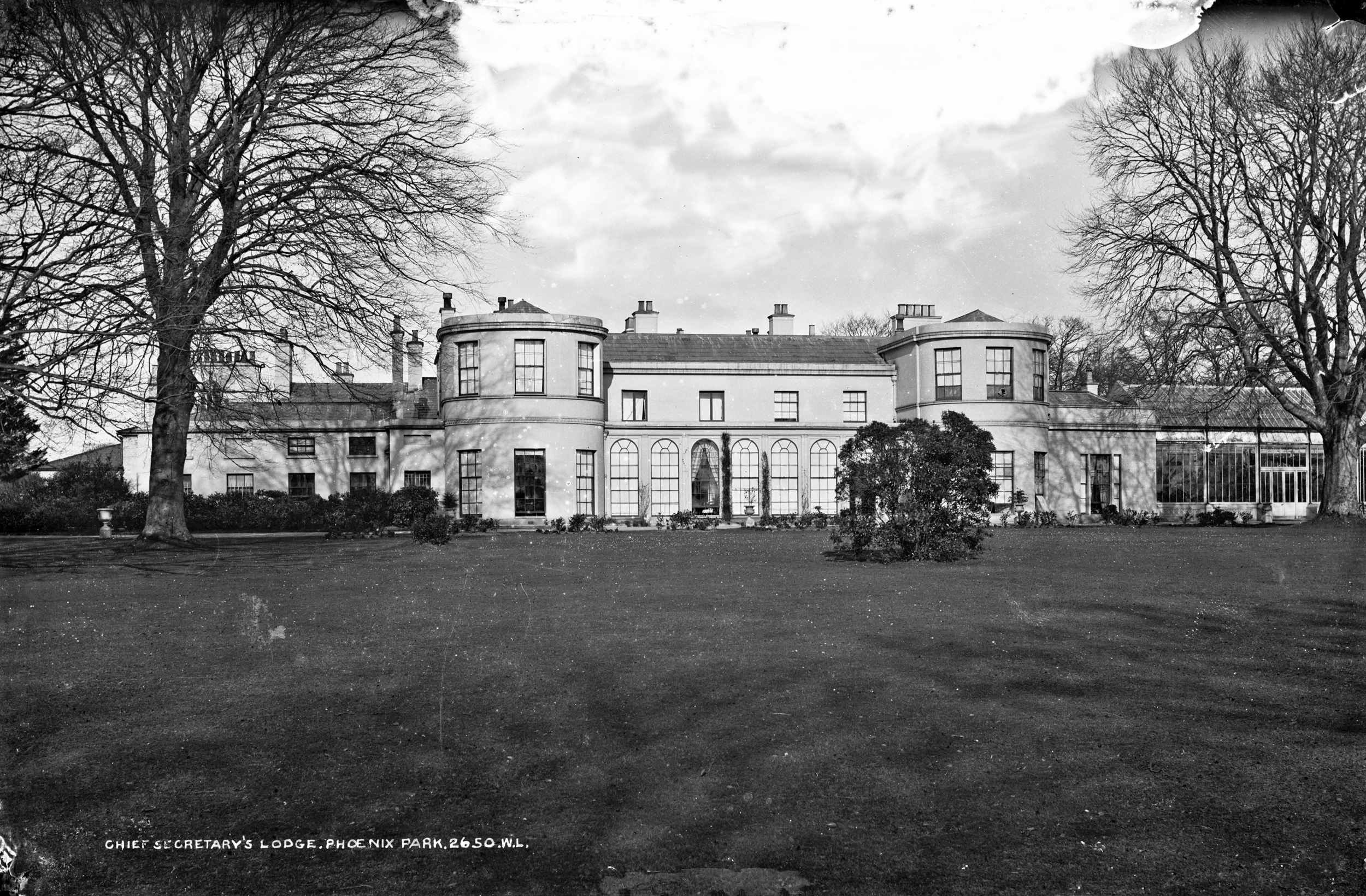 Chief Secretary's Lodge now Deerfield, Phoenix Park, Dublin.