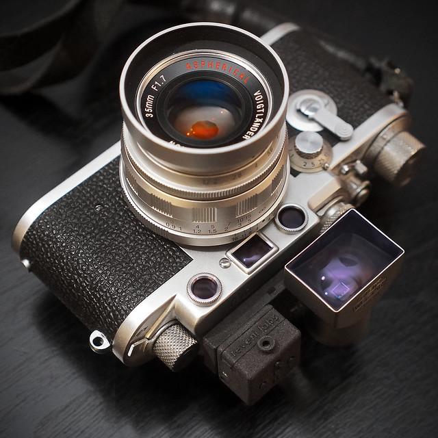 Reveni Labs meter on Leica IIIf