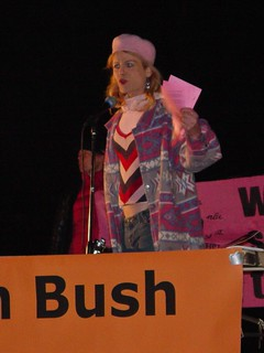 Midge Potts at State of the Union protest | by SchuminWeb