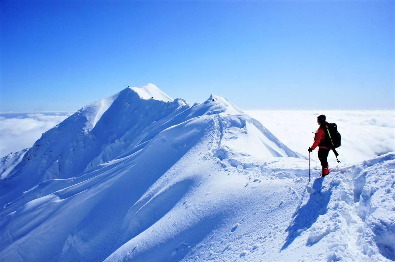 【鳥取】冬の伯耆大山 絶景広がる雪山登山