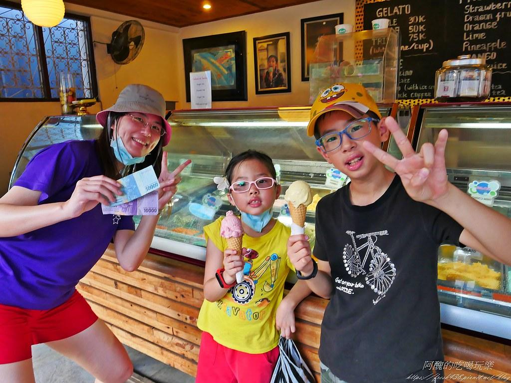 P1730357冰淇淋一球3萬印尼盾