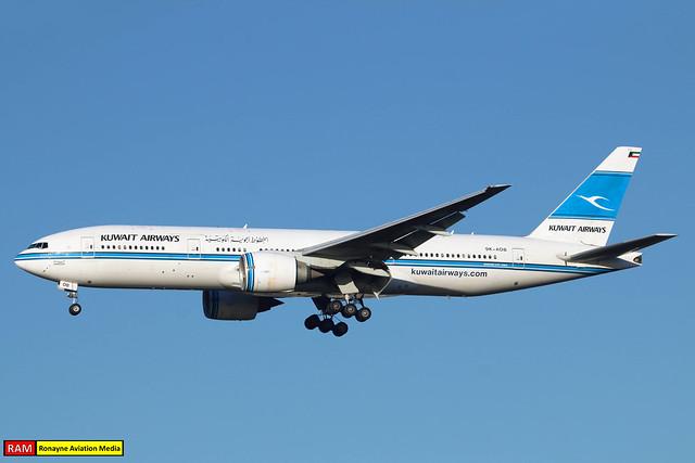 9K-AOB | Boeing 777-269ER | Kuwait Airways