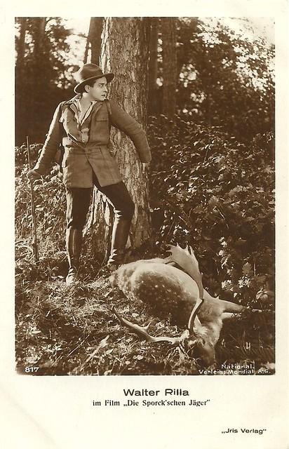 Walter Rilla in Die Sporck'schen Jäger (1927)