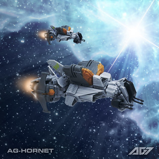 Hornet Fighter (Snap Ships) | by armoredgear7