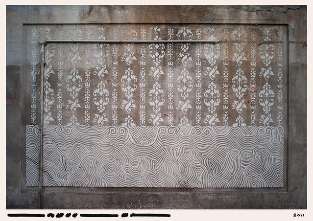 Martin Loeffler, 2011, Toronto — Painted Wall
