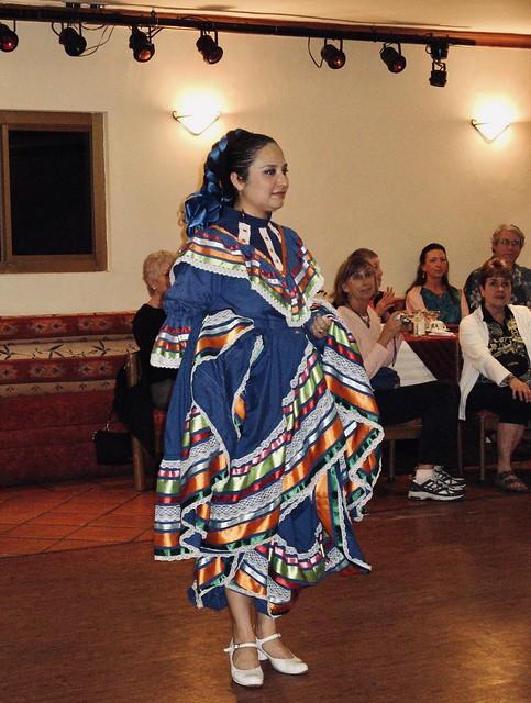 Ballet Folklorico dancer, El Fuerte, Mexico